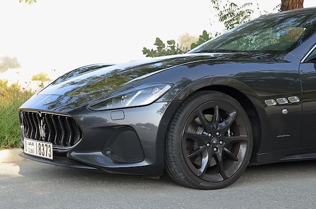 Maserati GranTurismo 2018 new grille