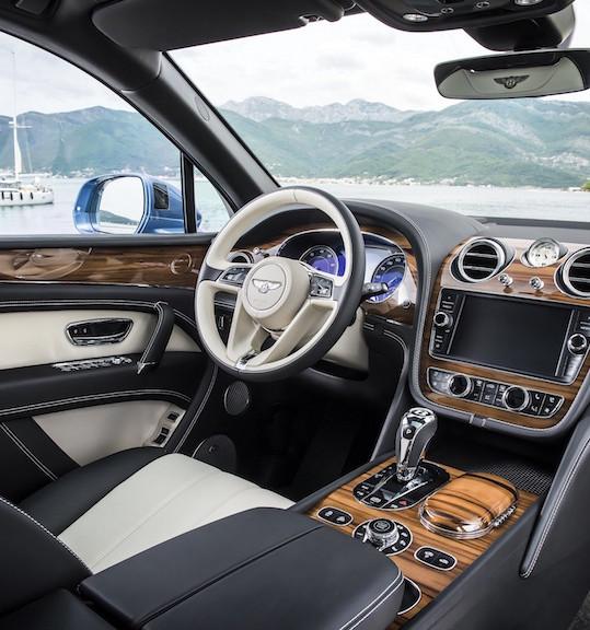 Image 1 - Bentley Bentayga with Liquid Amber Veneer