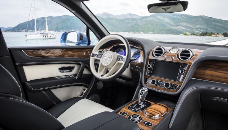 Image 1 - Bentley Bentayga with Liquid Amber Veneer