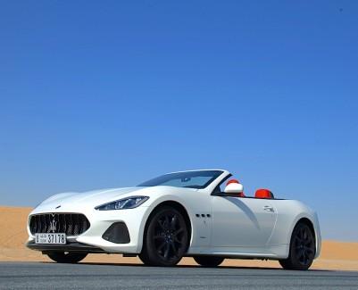 Maserati GranCabrio open top