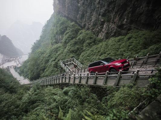 Range Rover Sport Dragon Challenge China