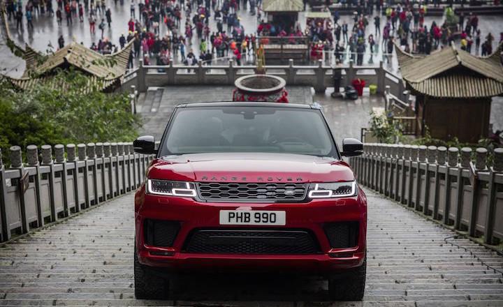 Range Rover Sport Dragon Challenge Heavens gate