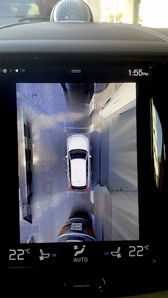 Volvo XC 60 camera clear