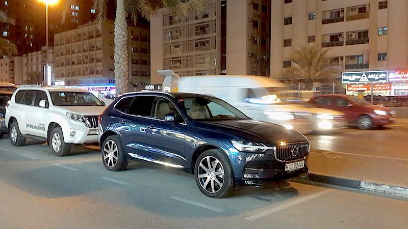 Volvo XC60 city safety