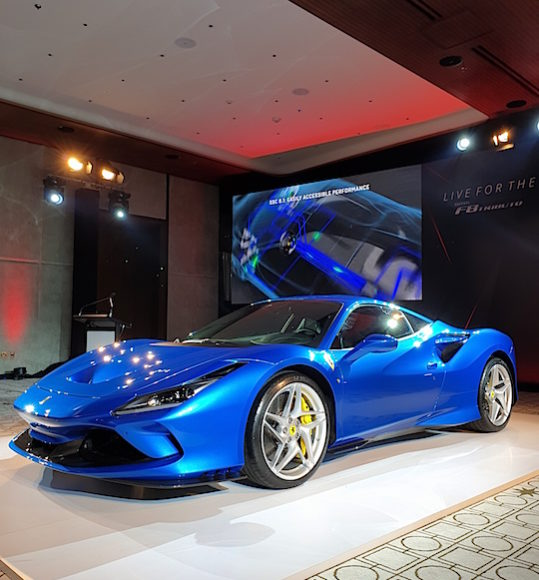 Ferrari F8 Tributo Engine: Car Reviews Test Drives UAE Dubai Abu